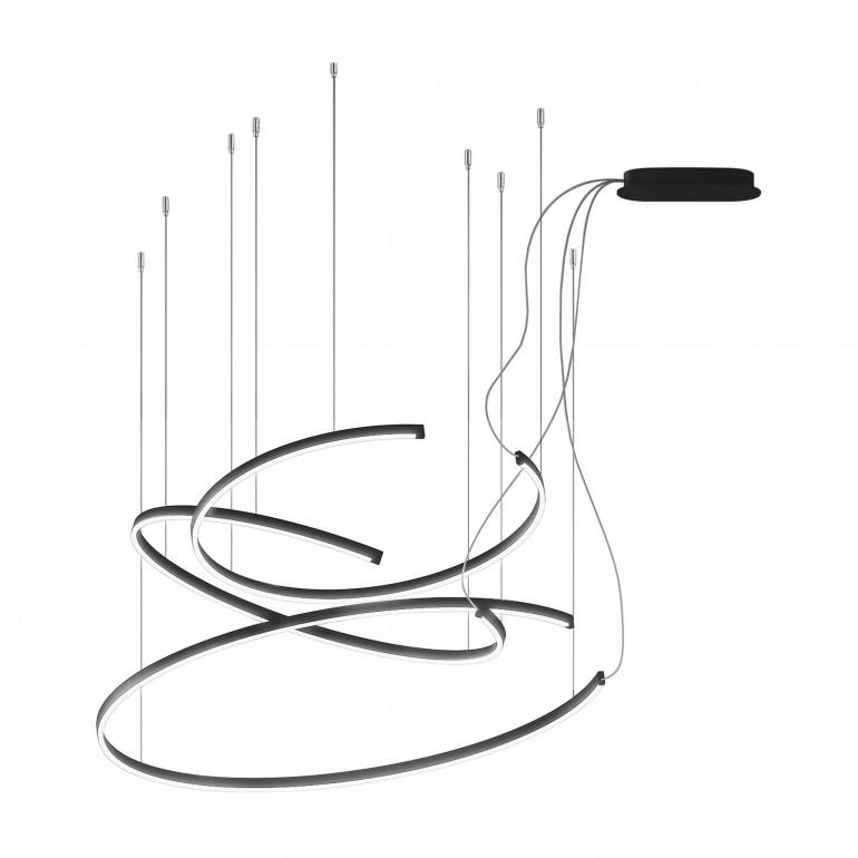 modern suspension lamp lemonia 5063