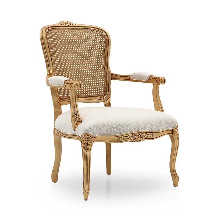 poltrona legno classico wood classic armchair luisa 2331