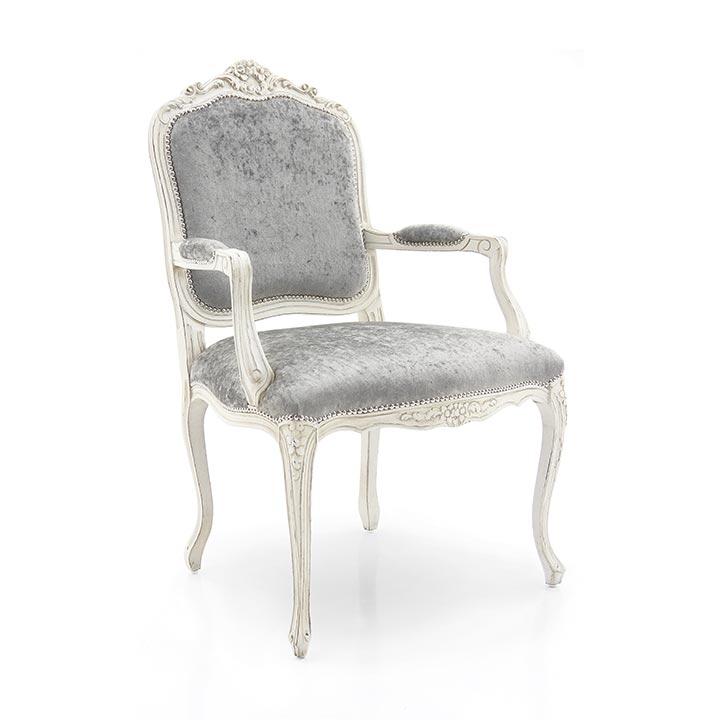 poltrona legno classico wood classic armchair monsieur 3151