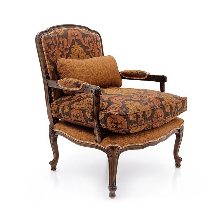 poltrona legno classico wood classic armchair vesta 2122