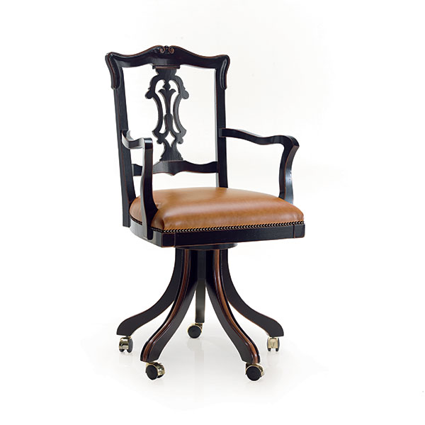 Elegante poltrona in stile ducale seven sedie - Sedie ufficio verona ...