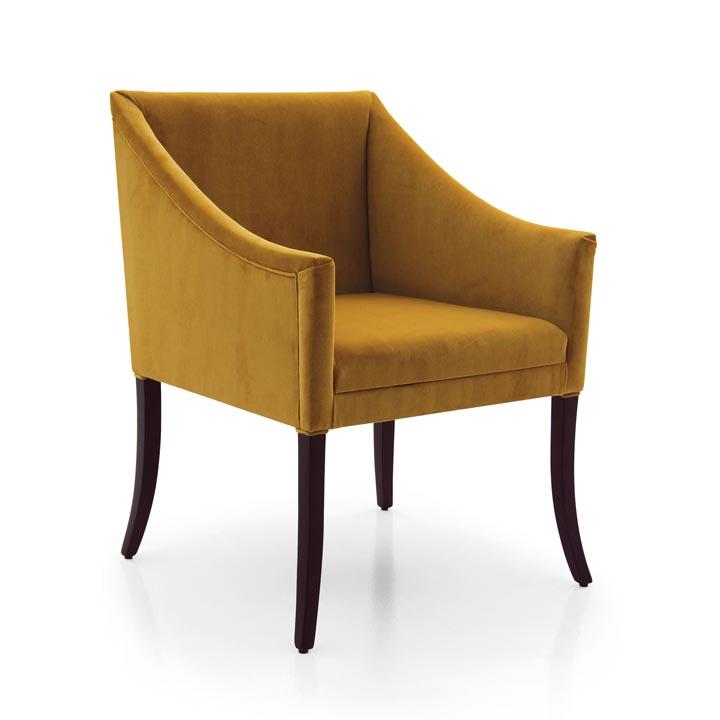poltroncina legno moderno wood modern armchair romeo 6878