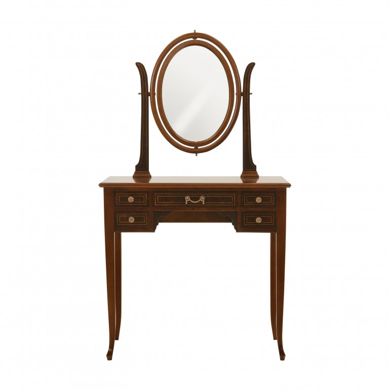 directoire style wooden writing desk