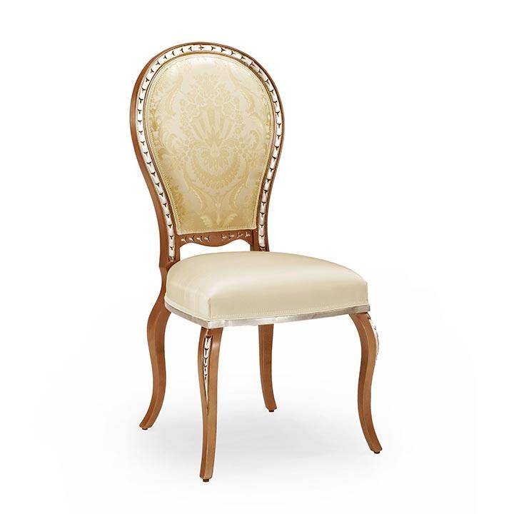 sedia legno classico wood classic chair claudia 5777