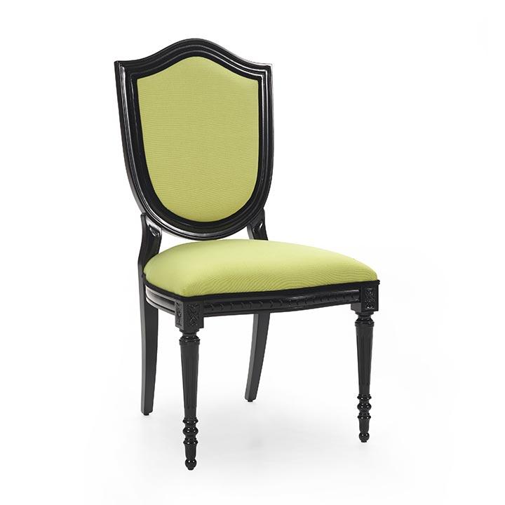 sedia legno classico wood classic chair violino 8106
