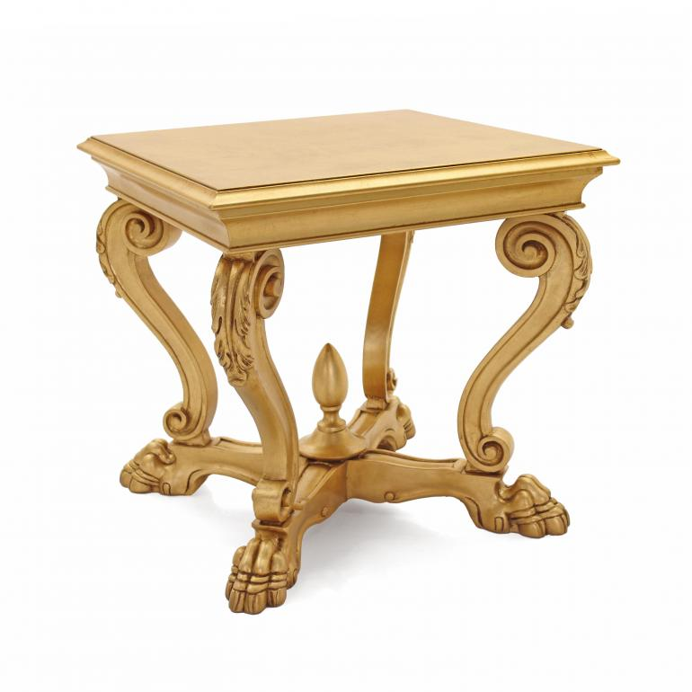 venice style wood table leone 7850