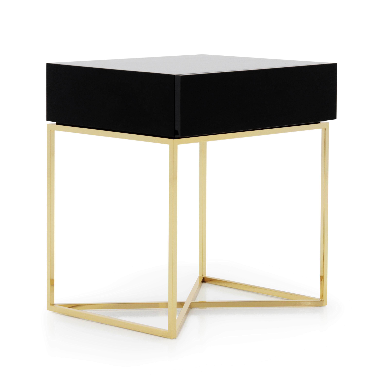 3552 Modern Metal Bedside Table Klepsidra4