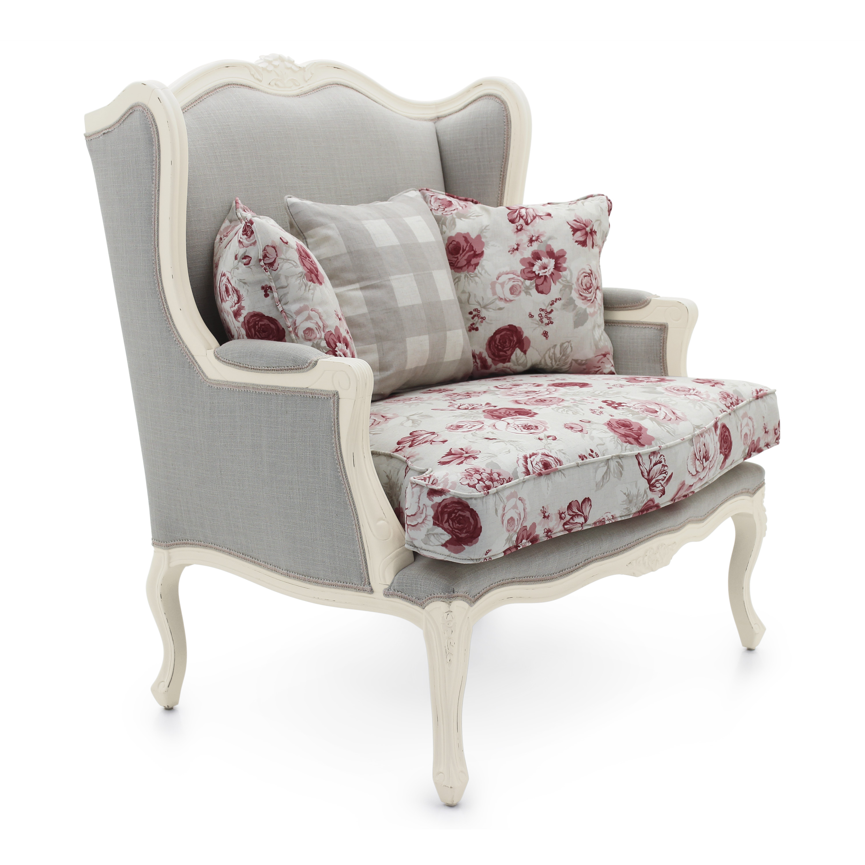 Classic Style Armchair Made Of Wood Stige Sevensedie