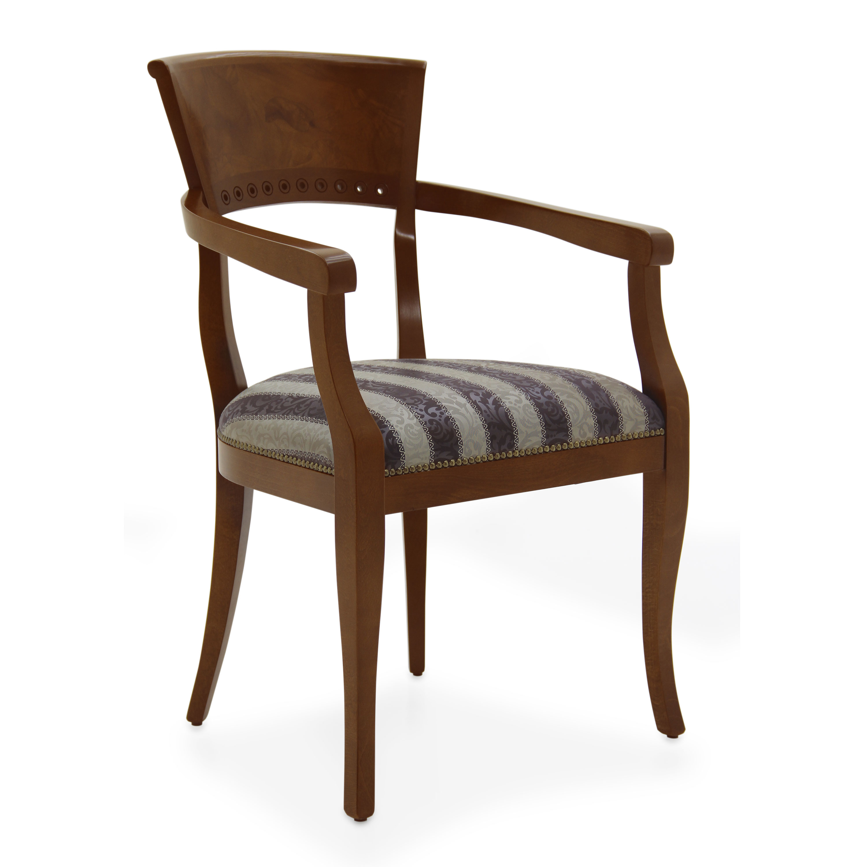 Classic Style Small Armchair Made of Wood Radica 36 ...