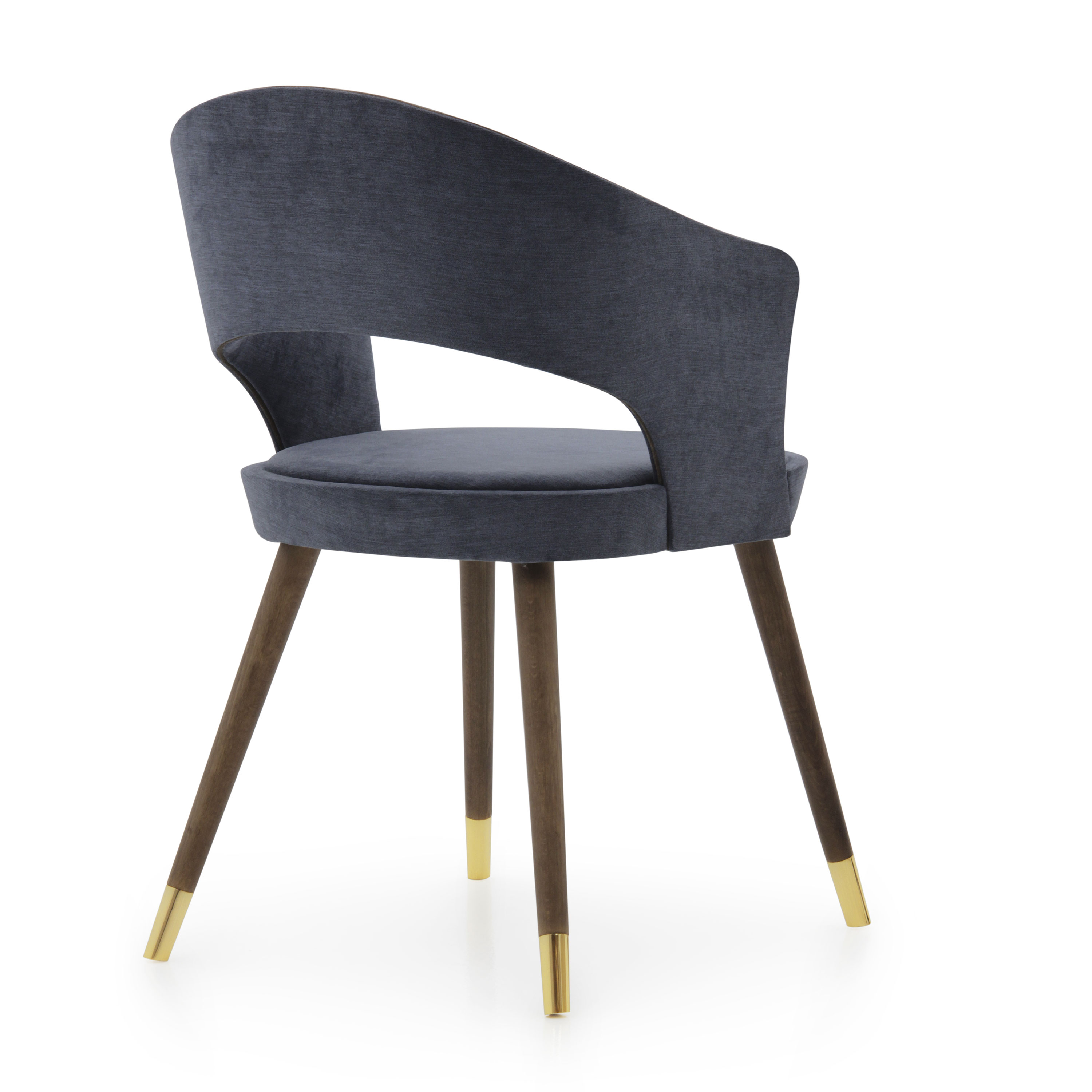 Modern Style Small Armchair Made of Wood Lucrezia  Sevensedie