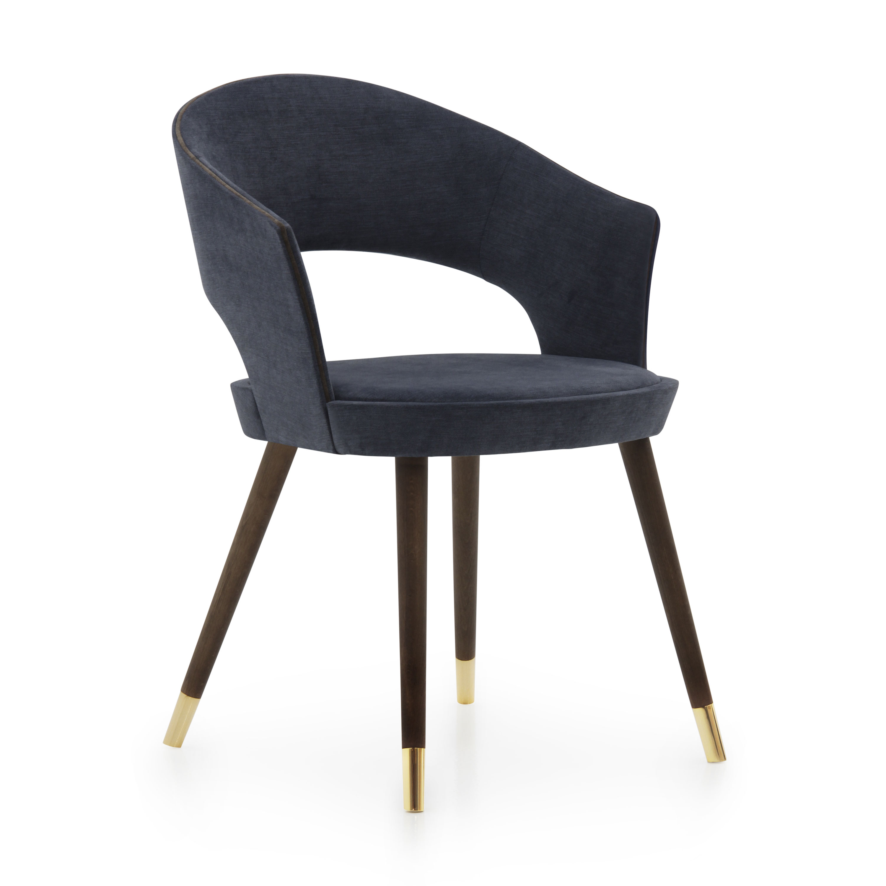 Modern Style Small Armchair Made of Wood Lucrezia | Sevensedie