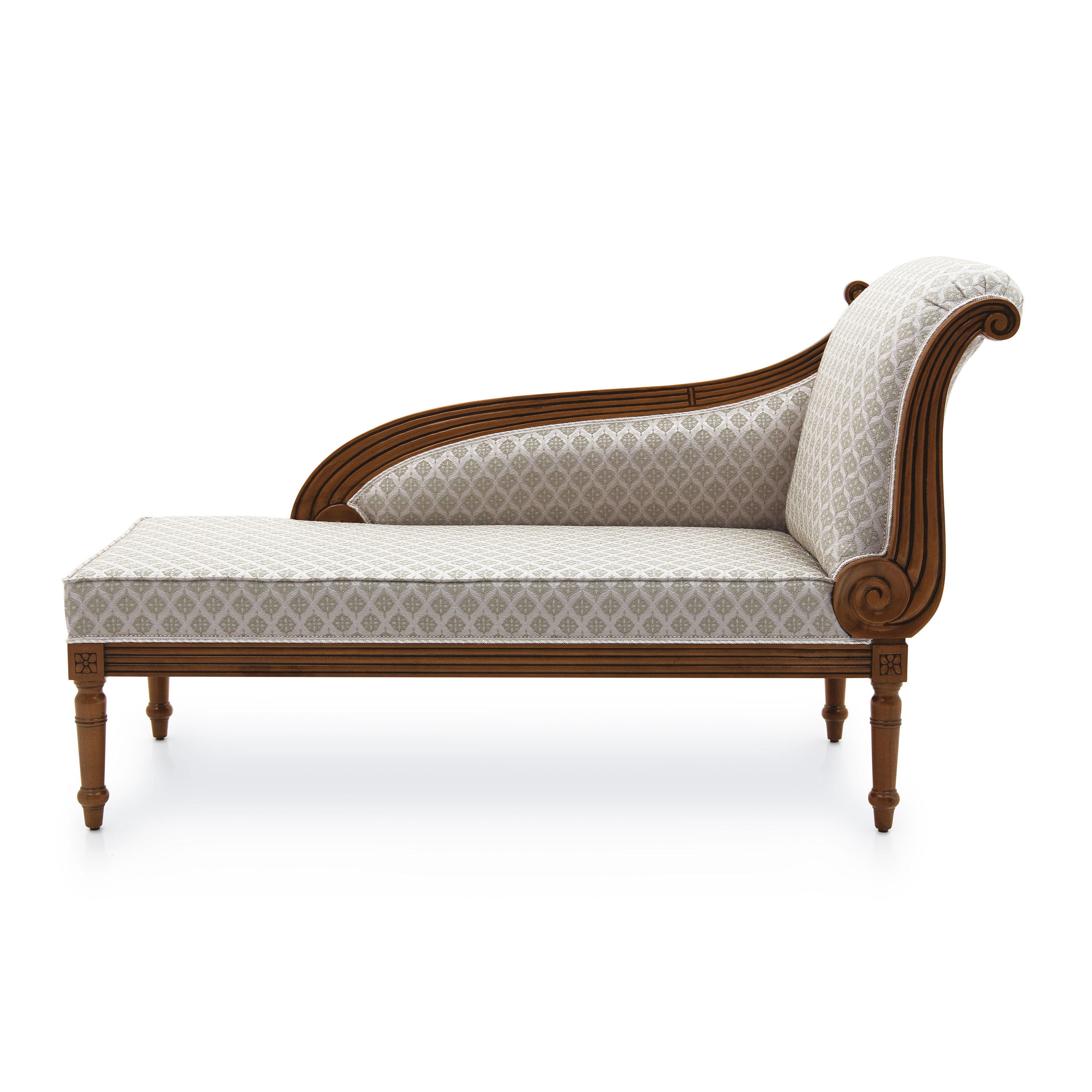 - Classic Style Chaise-Longue Made Of Wood Cerere Sevensedie