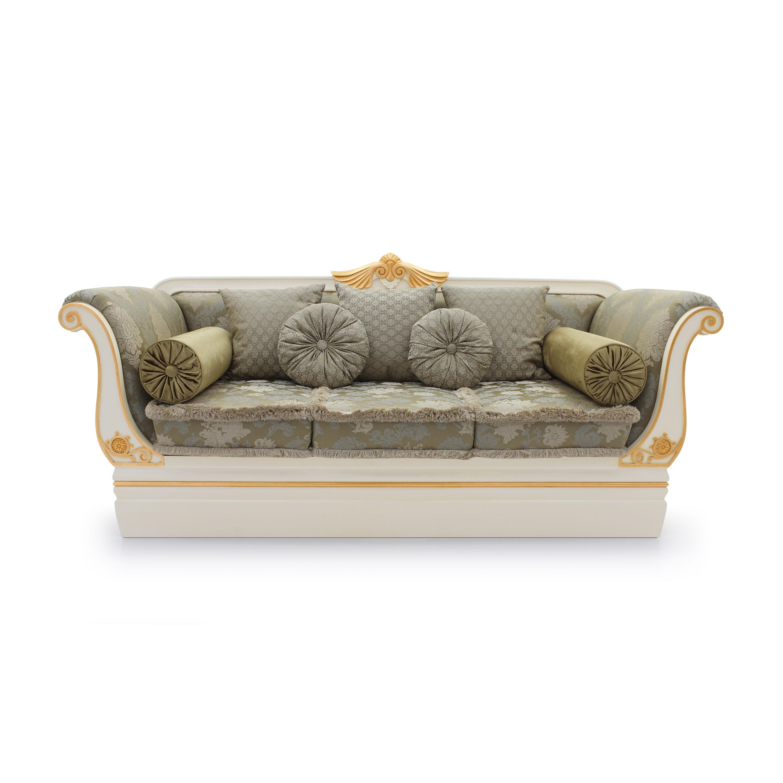 Classic Style Sofa made of Wood Custom01 | Sevensedie