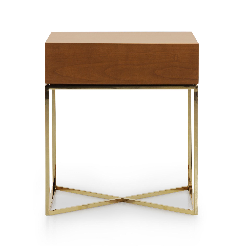 Modern Style Metal Bedside Table Klepsidra Sevensedie