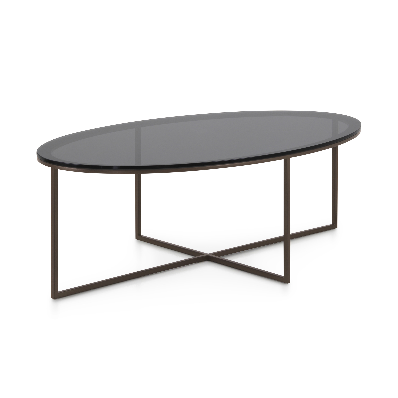Tavolini Da Salotto Lago tavolino in metallo stile contemporaneo trio - sevensedie