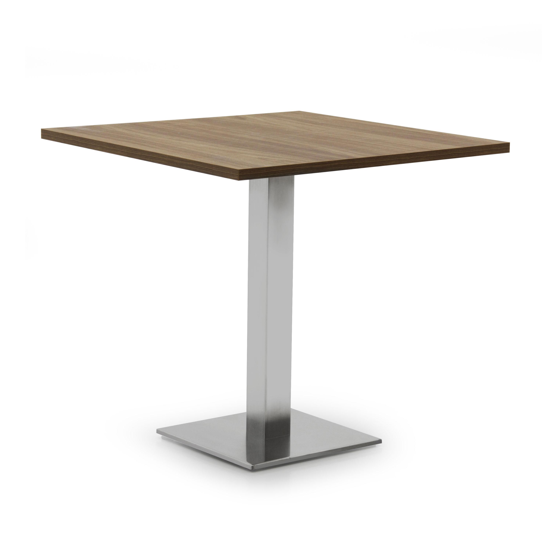 Tavolo con piano laminato stile moderno gioele sevensedie for Tavolo 40x40