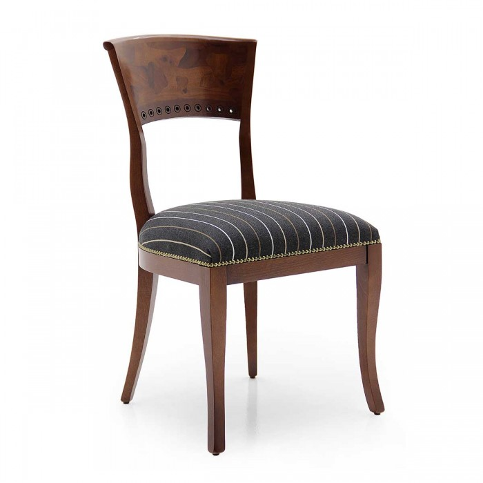Biedemeier classic chair with wooden frame RADICA by Sevensedie