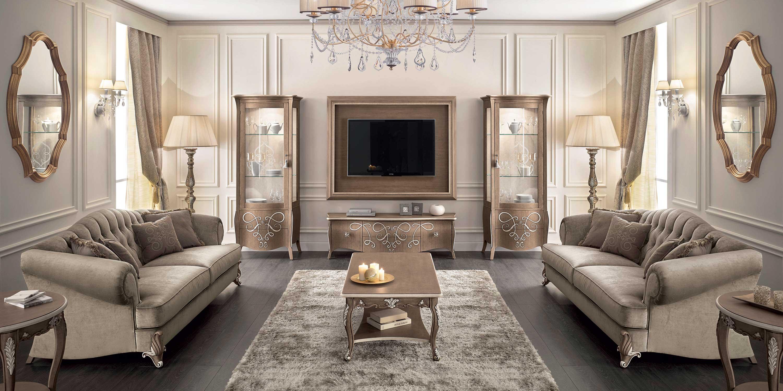 Produzione sedie classiche e moderne divani e poltrone in for Arredamento lussuoso