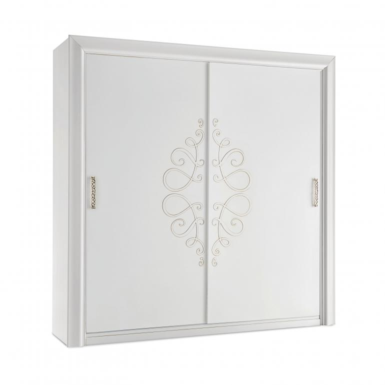 Italian luxury wardrobe Butterfly by Sevensedie. With sliding doors