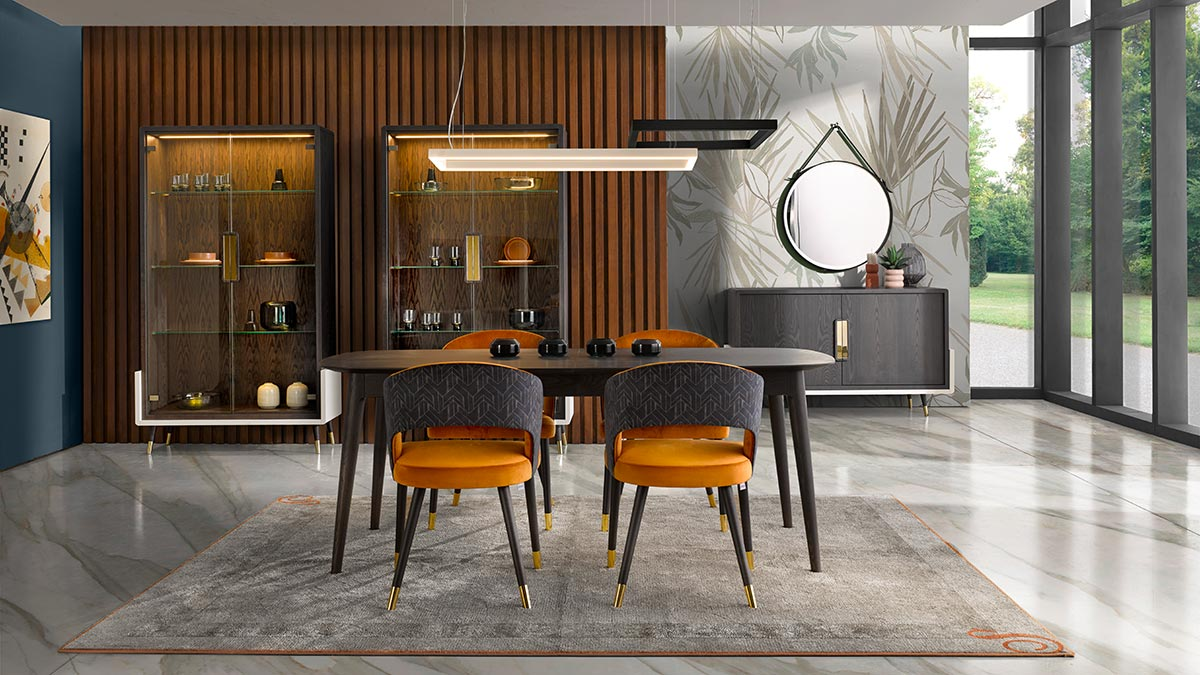 italian modern diningroom