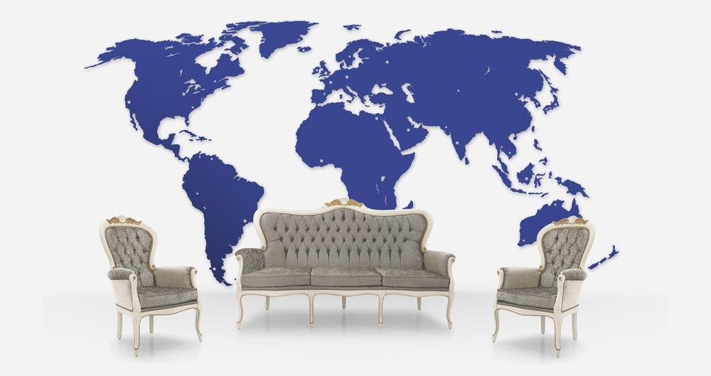 Produzione sedie classiche e moderne divani e poltrone in for Rivenditori sedie