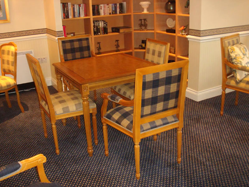 6 Luigi XVI style chairs and armchairs, dining tables in Portishead, England